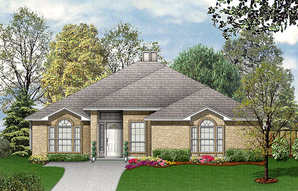Traditional House Plan 89942 Elevation