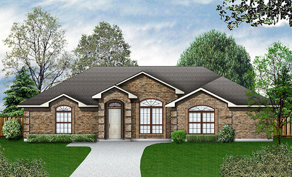 Traditional House Plan 89943 Elevation