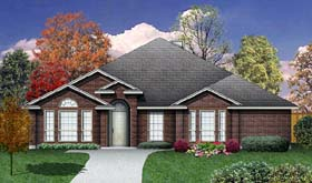 Traditional House Plan 89945 Elevation