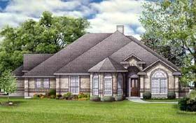 European House Plan 89951 Elevation