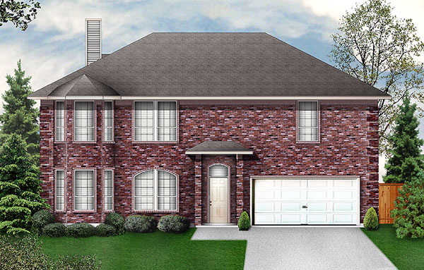 Traditional House Plan 89955 Elevation