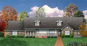 Country House Plan 89957 Elevation