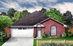 Traditional House Plan 89967 Elevation