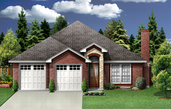 Traditional House Plan 89975 Elevation