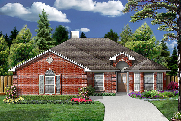 Traditional House Plan 89978 Elevation