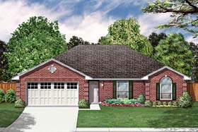 Traditional House Plan 89979 Elevation