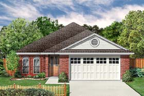 Traditional House Plan 89983 Elevation