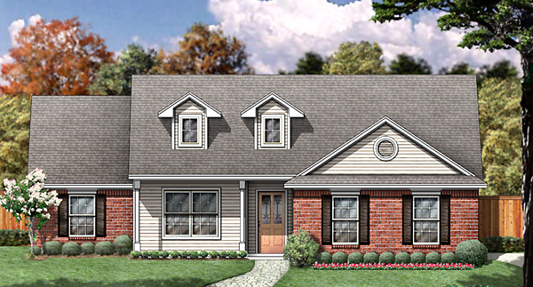 Country House Plan 89986 Elevation