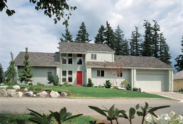 Contemporary House Plan 90200 Elevation