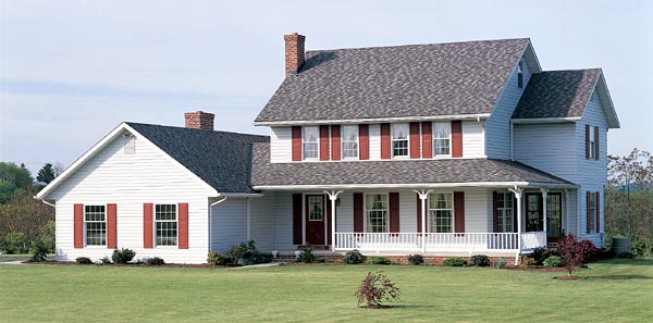 Country House Plan 90201 Elevation