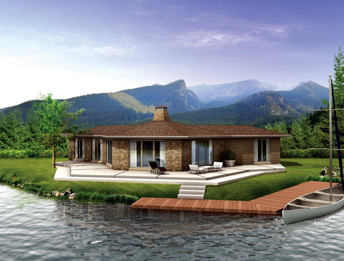House Plan 90242 at FamilyHomePlans.com - ^