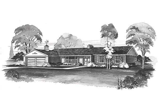 House Plan 90257