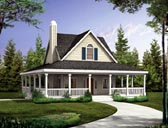 Plan Number 90287 - 1072 Square Feet