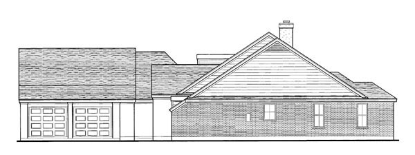 Country, European, One-Story House Plan 90300 with 3 Beds, 3 Baths, 2 Car Garage Picture 2