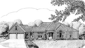 Contemporary European House Plan 90301 Elevation