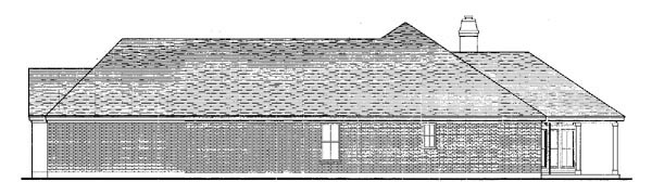 European, One-Story House Plan 90306 with 3 Beds, 3 Baths, 3 Car Garage Picture 1