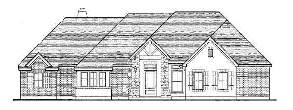European, One-Story House Plan 90306 with 3 Beds, 3 Baths, 3 Car Garage Picture 2