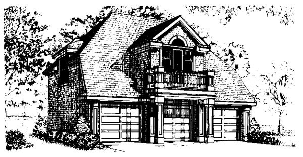 Colonial, Craftsman House Plan 90307 with 4 Beds, 4 Baths, 3 Car Garage Picture 1