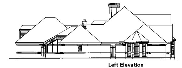 European House Plan 90311