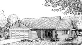Plan Number 90333 - 1078 Square Feet
