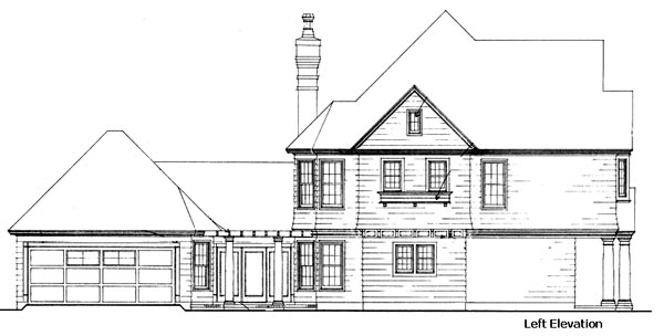 Country, Craftsman House Plan 90367 with 3 Beds, 3 Baths, 2 Car Garage Picture 1