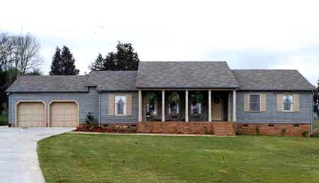 Ranch House Plan 90601 with 3 Beds, 3 Baths, 2 Car Garage Picture 1