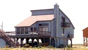 Coastal House Plan 90611 Elevation
