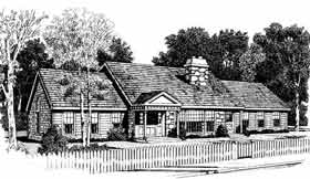 Country Traditional House Plan 90624 Elevation