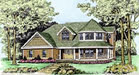 Plan Number 90647 - 2809 Square Feet