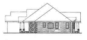 Country, Craftsman, Ranch House Plan 90667 with 4 Beds, 3 Baths, 2 Car Garage Picture 2