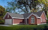 Plan Number 90701 - 1717 Square Feet