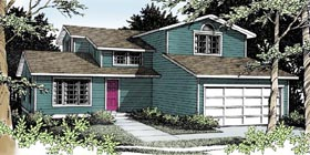 Plan Number 90703 - 1759 Square Feet
