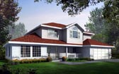 Plan Number 90708 - 2185 Square Feet