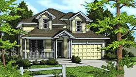 Traditional House Plan 90717 Elevation