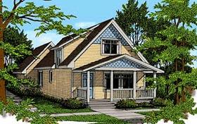 Craftsman House Plan 90725 Elevation