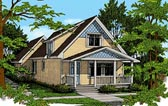 Plan Number 90725 - 1251 Square Feet