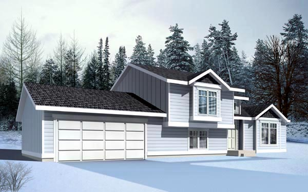 Ranch Traditional House Plan 90726 Elevation