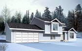 Plan Number 90726 - 1399 Square Feet
