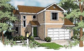 Traditional House Plan 90727 Elevation
