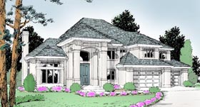 Mediterranean House Plan 90728 Elevation