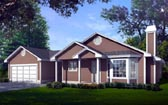Plan Number 90731 - 1304 Square Feet