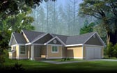 Plan Number 90732 - 1352 Square Feet