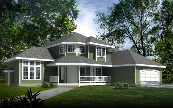 Country House Plan 90733 Elevation