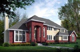 European Traditional House Plan 90736 Elevation