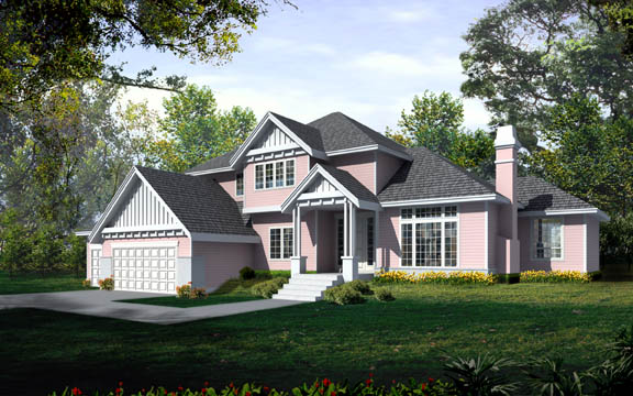 Traditional House Plan 90750 Elevation