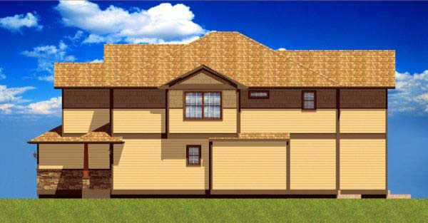 Craftsman Multi-Family Plan 90811 with 6 Beds, 6 Baths, 2 Car Garage Picture 2