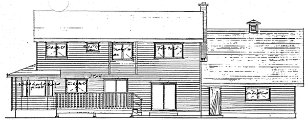 Country House Plan 90816 Rear Elevation