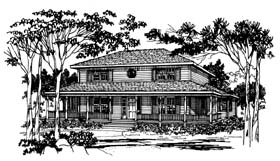 Country Traditional House Plan 90826 Elevation