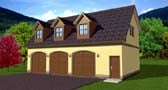Plan Number 90833 - 1115 Square Feet