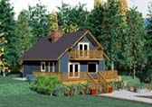 Plan Number 90847 - 1362 Square Feet